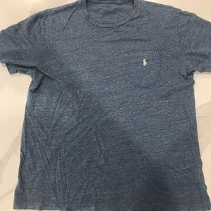 Ralph Lauren Polo Blue Pocket T-Shirt size M